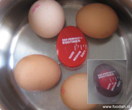 Perfecte gekookte eitjes