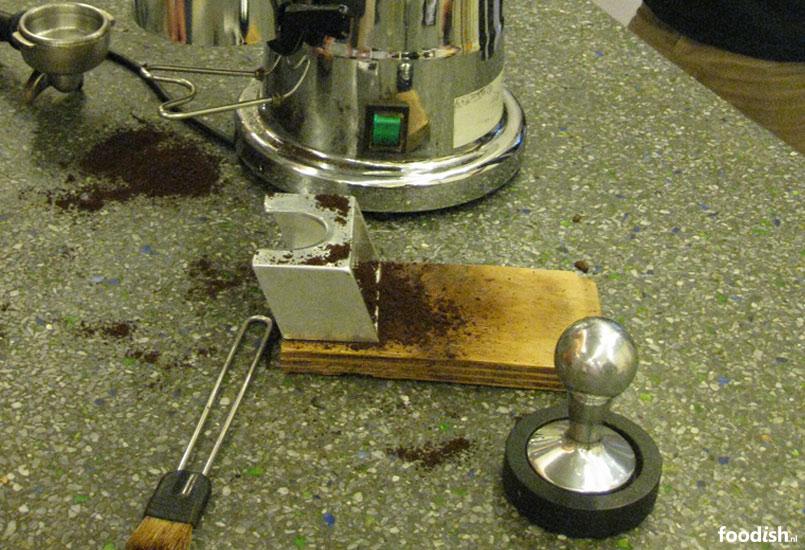 Espresso gereedschap