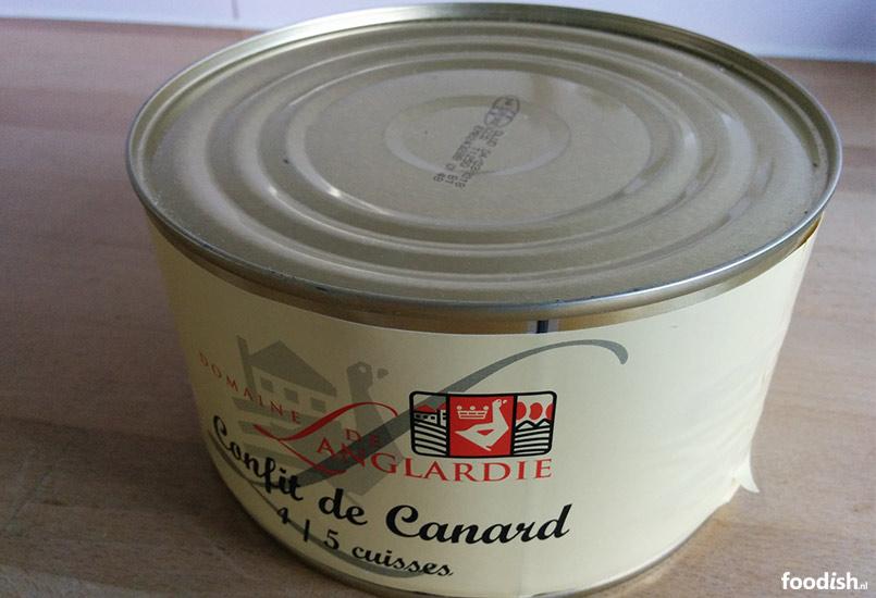 Blik Confid de Canard: eendenbouten in ganzenvet