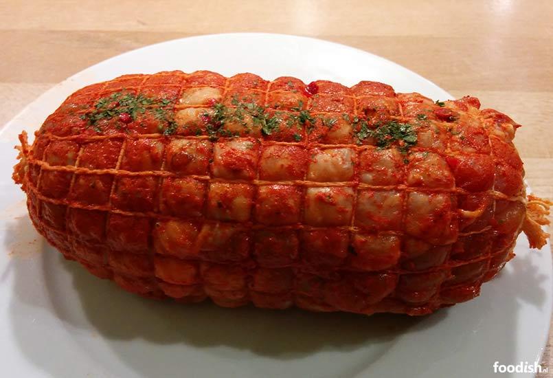 hoe lang moet rollade in de oven
