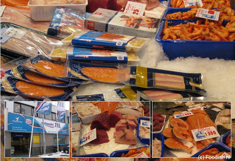 Vishandel Tel in IJmuiden