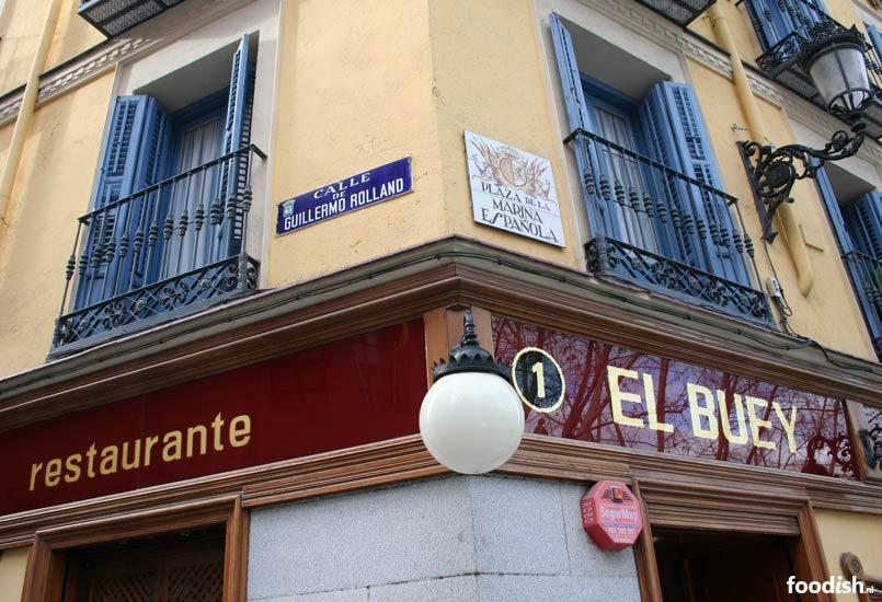 Restaurant El Buey in Madrid