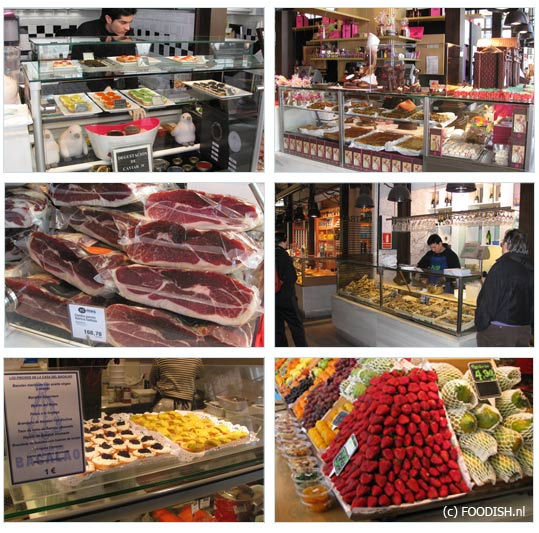 Mercado de San Miquel in Madrid - binnen