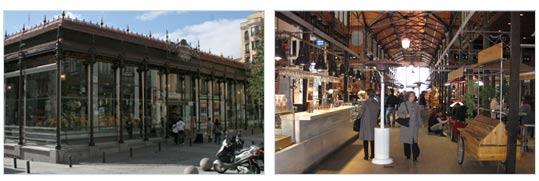 Mercado de San Miquel in Madrid - Het gebouw