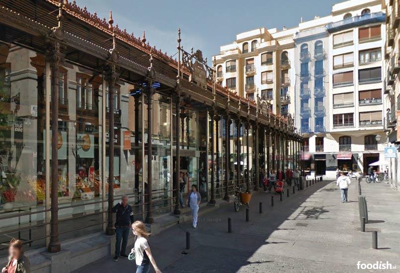 Mercado de san miquel in Madrid