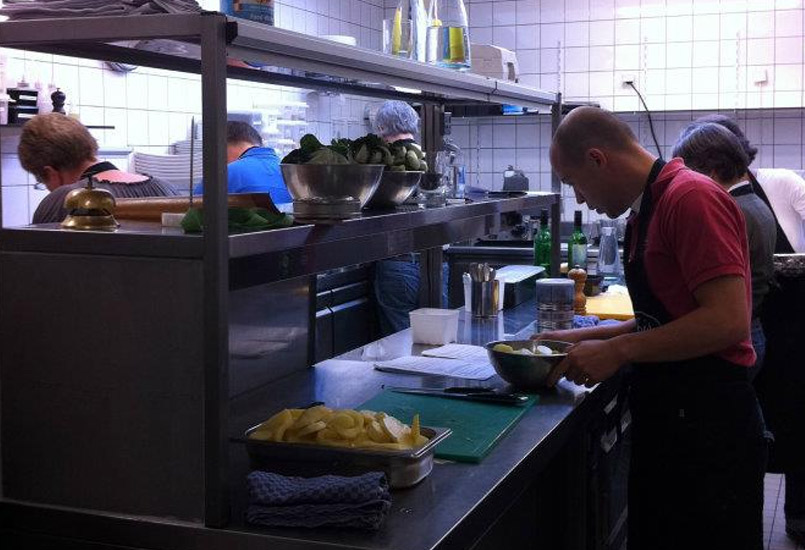 Lunch kookworkshop - aan de slag