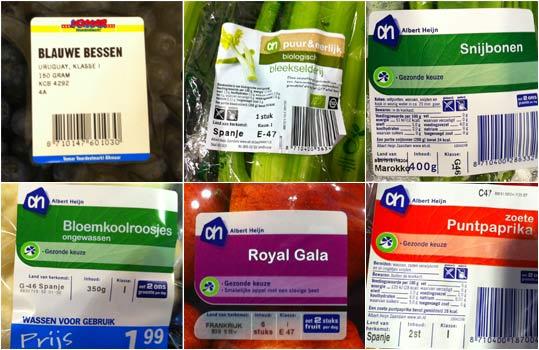 Waar komt jouw groenten en fruit vandaan?