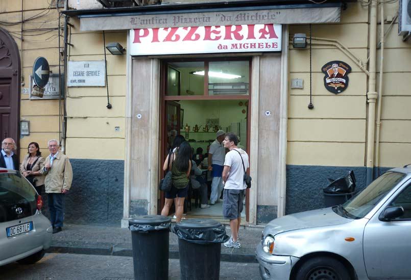 Pizza da Michele in Napels