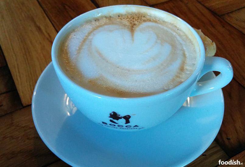 Mogador Haarlem schenkt Bocca koffie