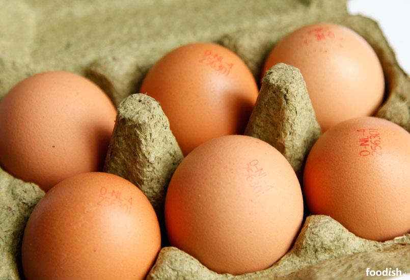Eicodes op eieren