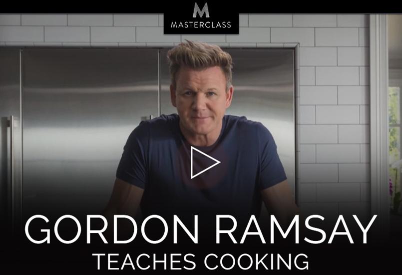 Masterclass koken van Gordon Ramsay