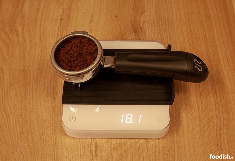 Maling koffie meten