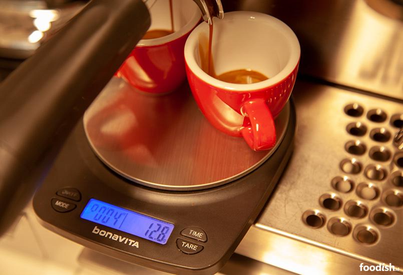 Espresso UIT meten